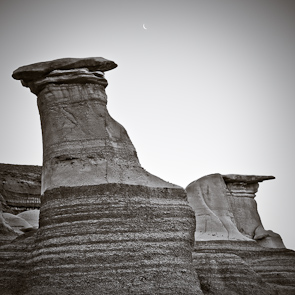 Hoodoos, Drumheller, Badlands, Alberta