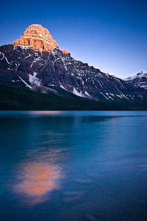 Mistaya Lake, Jasper National Park, Alberta, Canada