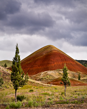 Painted Pyramid, John Dayy Fossil Beds National Monument, Mitchell, Oregon, USA