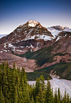 Peyto Peak, Banff National Park, Alberta, Canada
