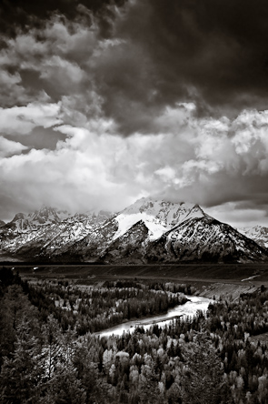 The Tetons and the Snake River, Grand Teton National Park, Wyoming, USA