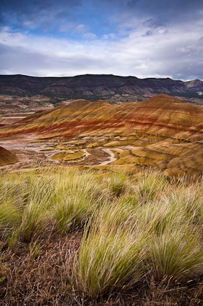 Painted Hills, John Dayy Fossil Beds National Monument, Mitchell, Oregon, USA